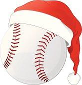 istock Christmas Baseball 165976526