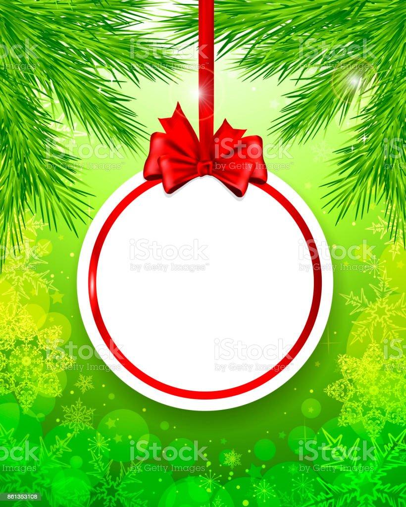 Weihnachtskugel – Vektorgrafik
