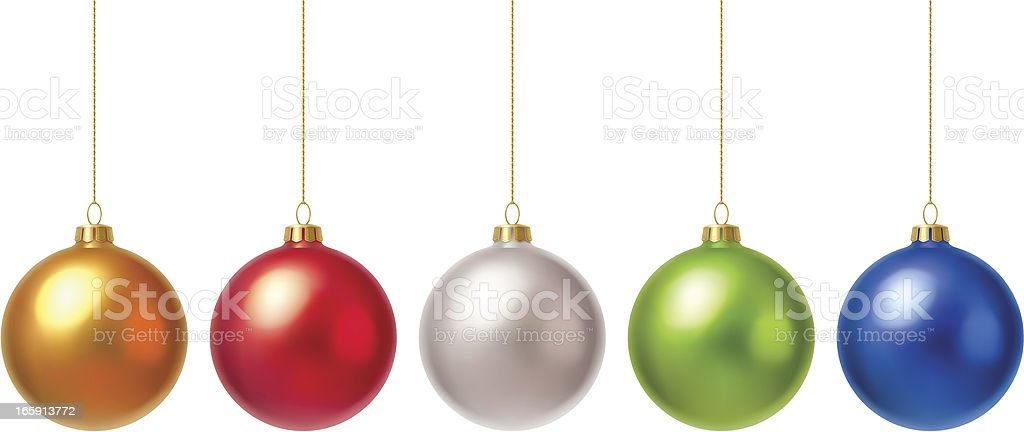 Christmas baubles royalty-free christmas baubles stock vector art & more images of blue