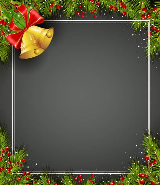 Weihnachtsglocke – Vektorgrafik