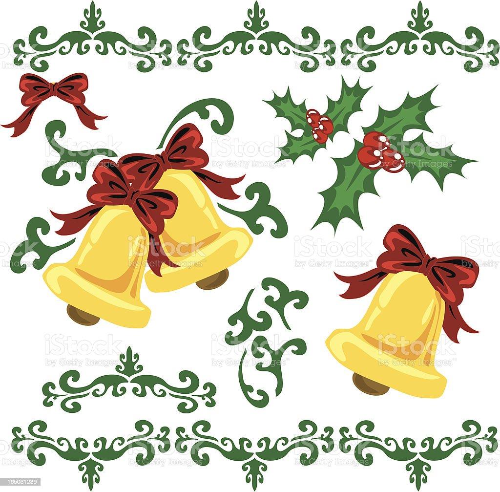 Christmas Bells royalty-free stock vector art