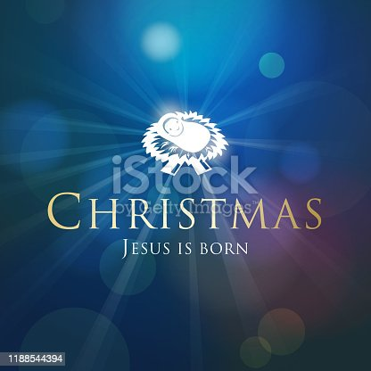 istock Christmas Birth of Christ 1188544394