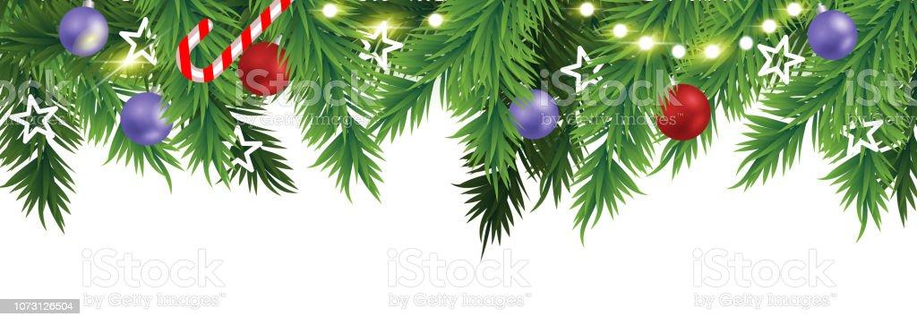 Christmas Border Design.Christmas Border Design Stock Illustration Download Image