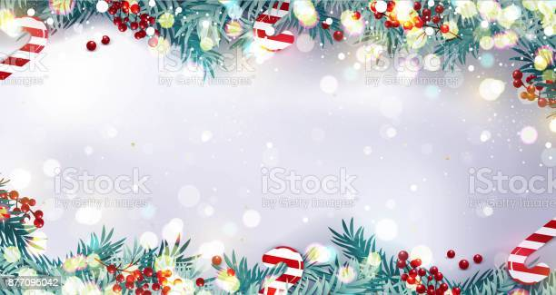 Christmas border or frame with fir branches berries and candy on vector id877095042?b=1&k=6&m=877095042&s=612x612&h=6blsndzux7sux3ry76ys19n2ku bagg5dflvyxfrwuc=