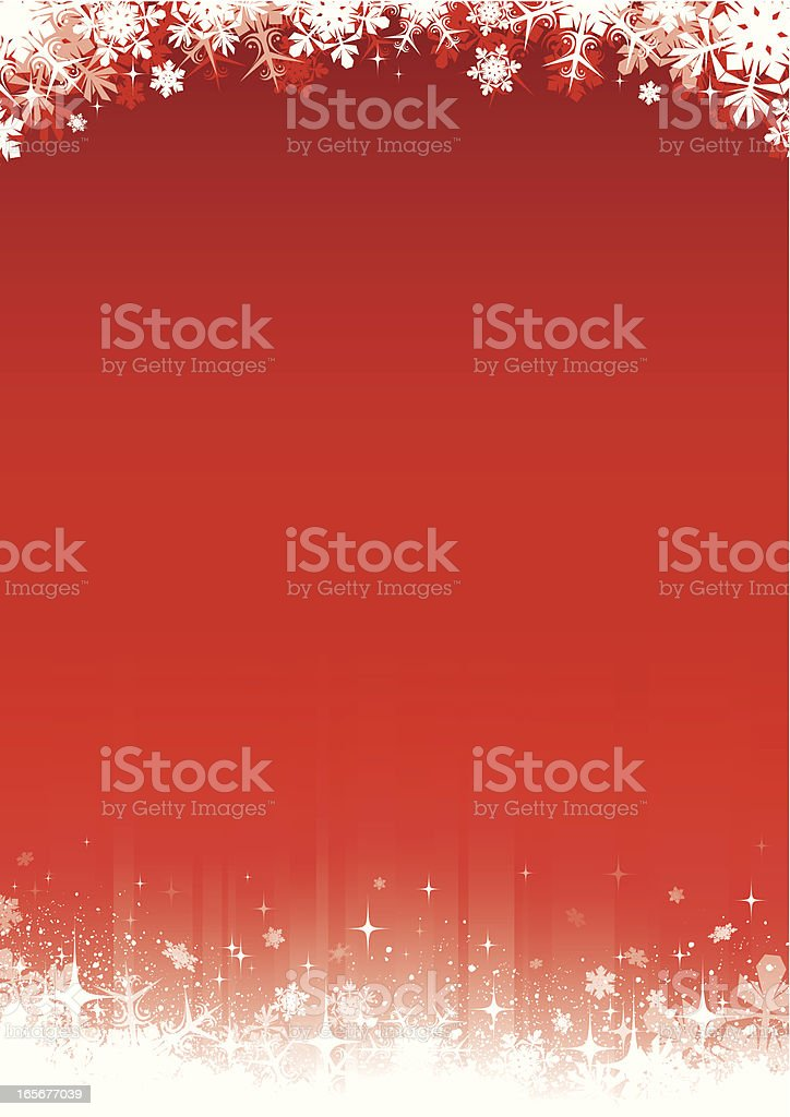 Christmas border royalty-free stock vector art