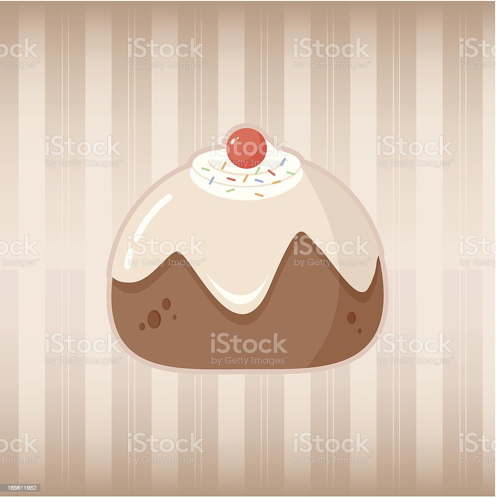 Christmas Cake royalty-free christmas cake stock vector art & more images of baked