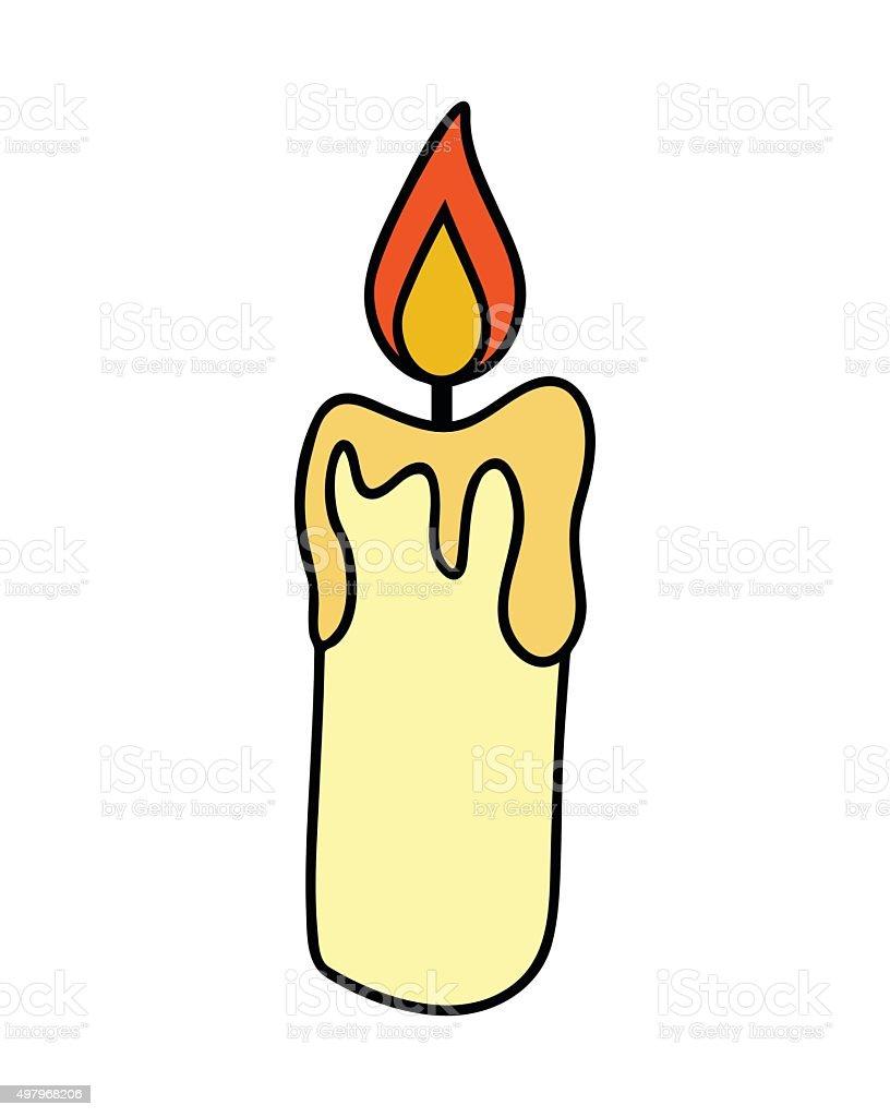 weihnachten kerze brennenden wachs kerzesymbol symbol design vektor illustration 497968206 istock. Black Bedroom Furniture Sets. Home Design Ideas