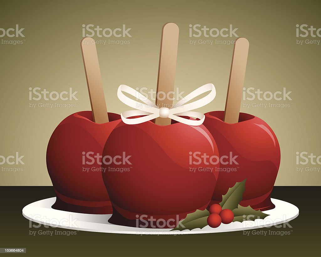 christmas candy apples royalty free christmas candy apples stock vector art more images - Christmas Candy Apples