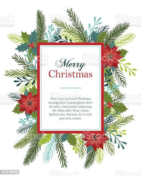 Christmas card design with flowers and fir vector id615798456?b=1&k=6&m=615798456&s=612x612&h=uy6htux2glw8gfgae3r ajlo3mrl3s0kh bchgnsmkk=