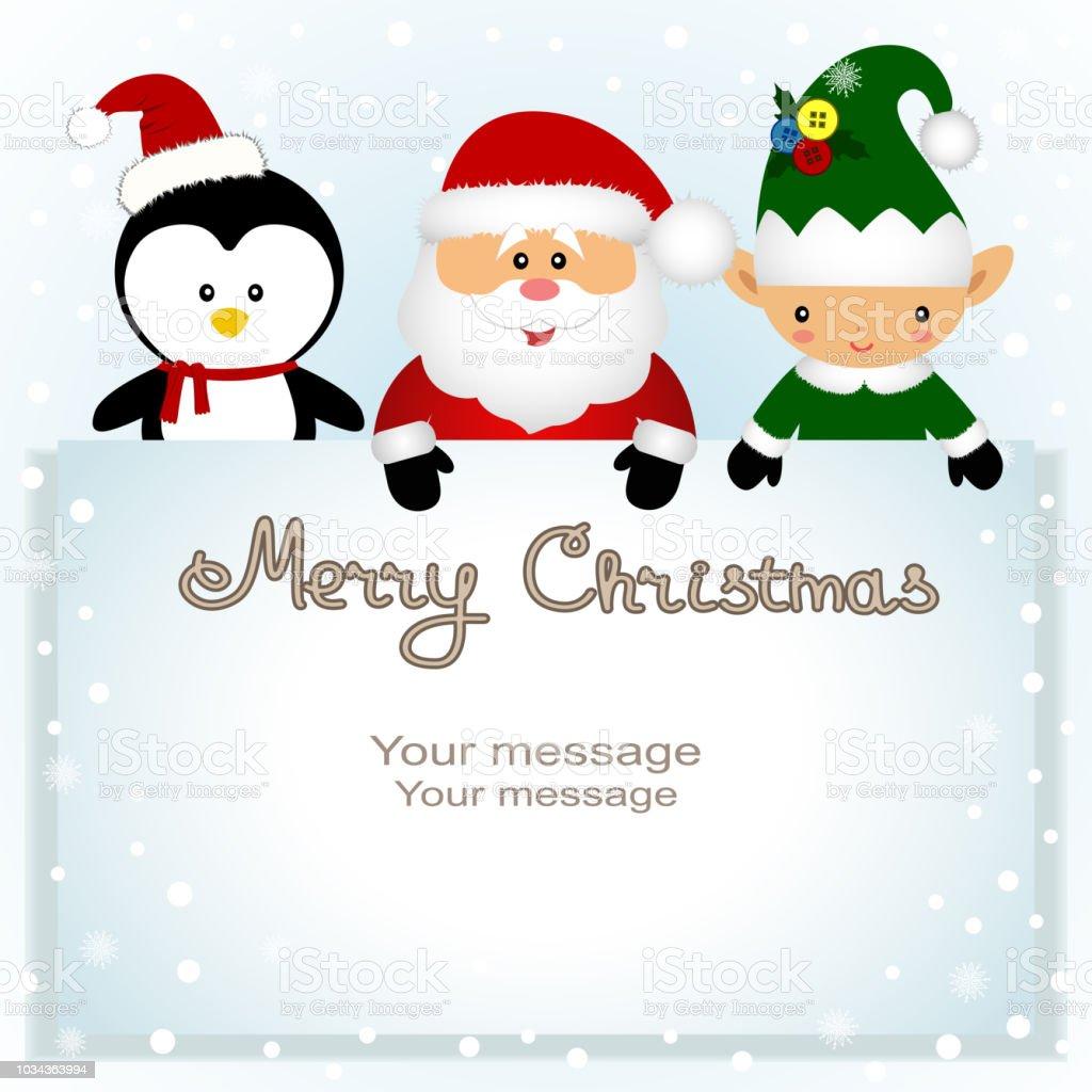 Afbeeldingen Kerst Pinguin