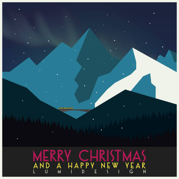 Christmas Card illustration vector art illustration