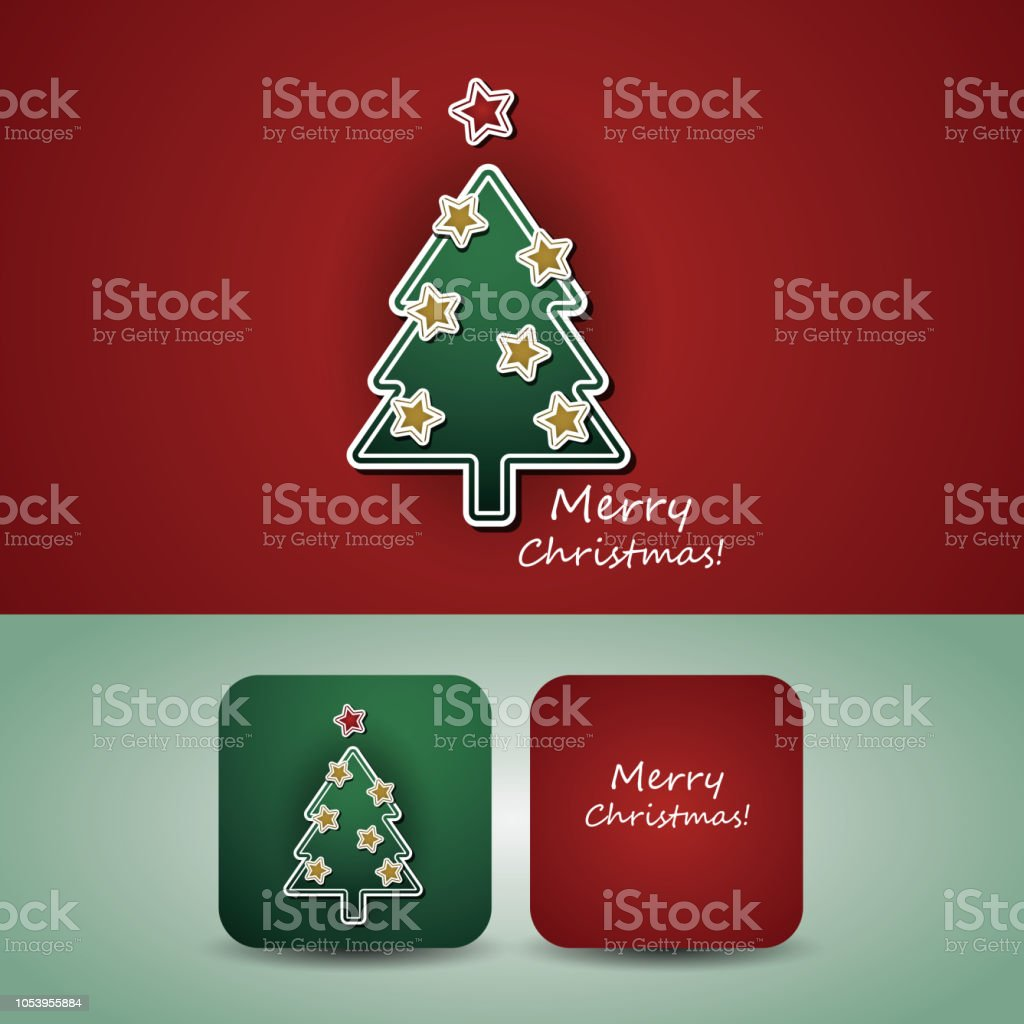 christmas card price tag banner template stock vector art more