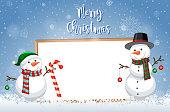 A christmas card template illustration
