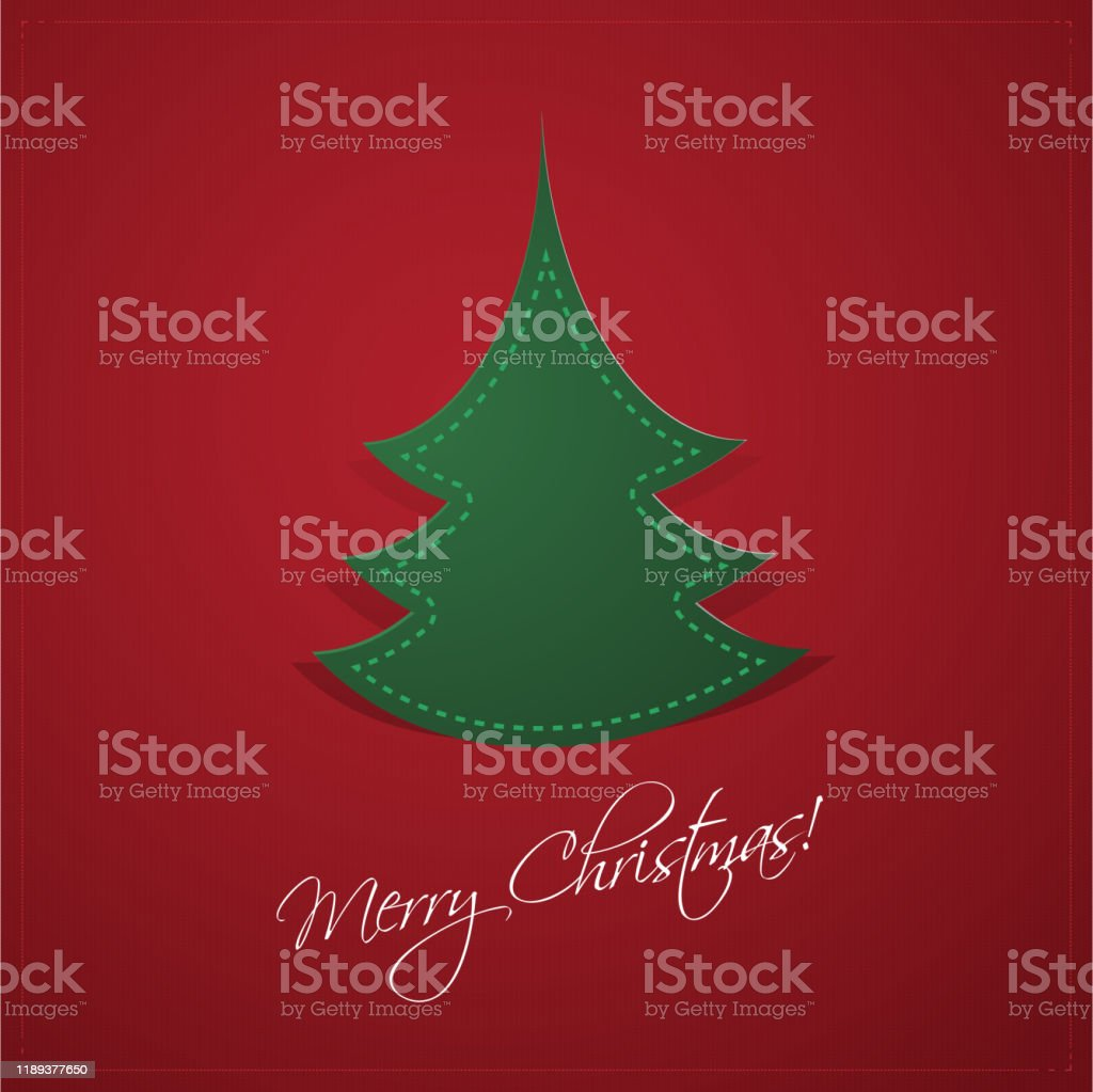 Christmas Card Template Stock Illustration Download Image Now Istock