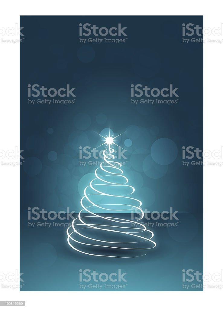 Christmas Card Template royalty-free stock vector art