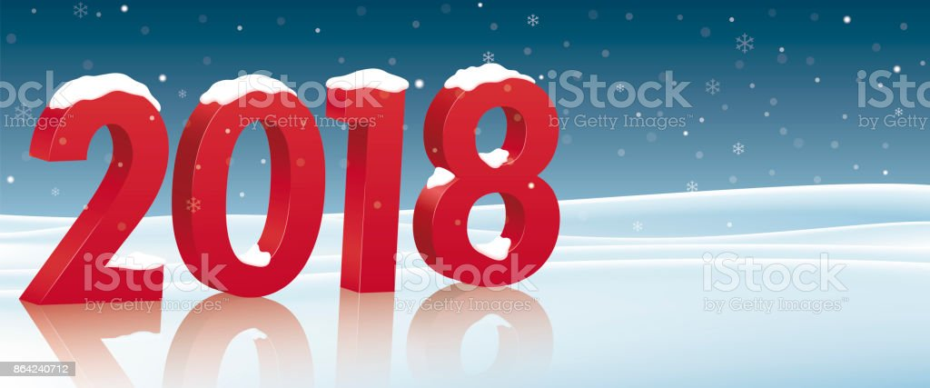 Christmas card to congratulate the new year 2018 royalty-free christmas card to congratulate the new year 2018 stock vector art & more images of abstract