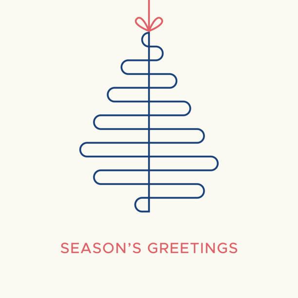 Christmas card vector graphic 2 vector art illustration