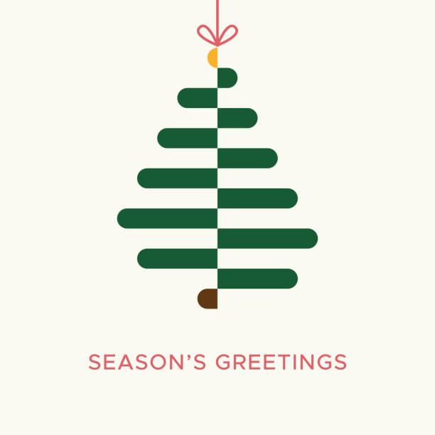 Christmas card vector graphic 3 vector art illustration