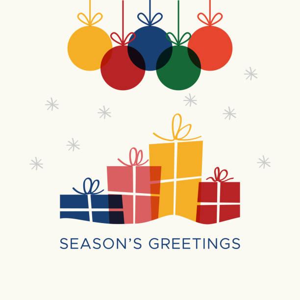 Christmas card vector graphic 6 vector art illustration