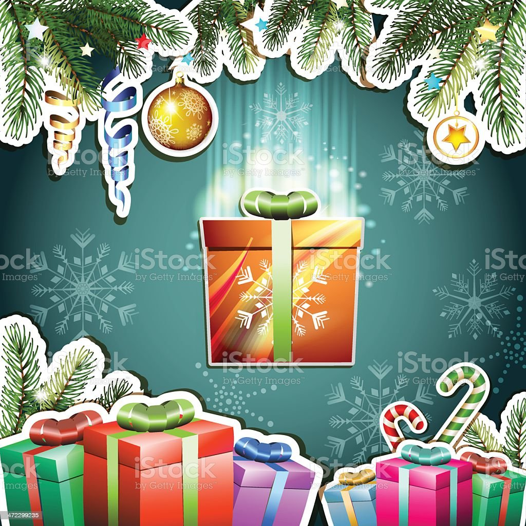 Christmas card royalty-free christmas card stock vector art & more images of bright