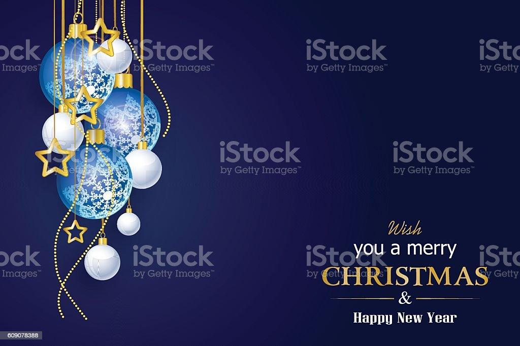 Christmas Card – Vektorgrafik