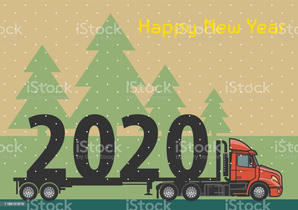 2020 Christmas Cards Backgrounds Emoticons Steam Christmas Card With A Vintage Steam Train Stock Illustration