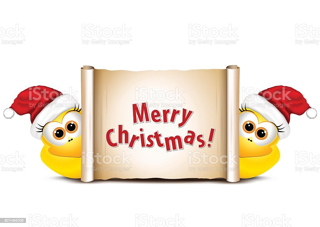 Christmas card with chickens in Santa hat. Rooster symbol New christmas card with chickens in santa hat rooster symbol new – cliparts vectoriels et plus d'images de bec libre de droits