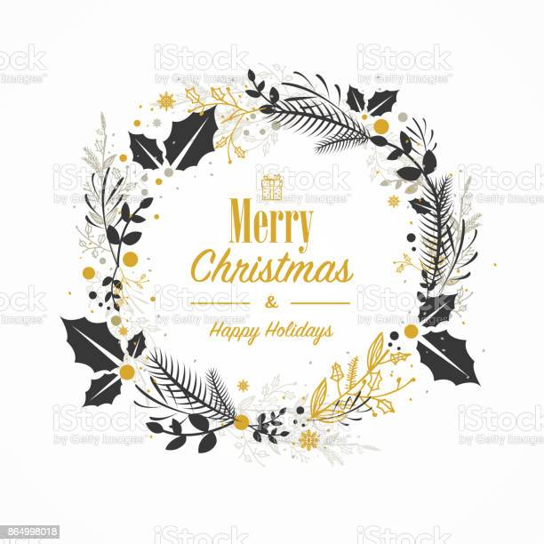 Christmas card with hand drawn wreath vector id864998018?b=1&k=6&m=864998018&s=612x612&h=9xf1 kjz5zezbohrcs8f6ohaw2doiz0xyoax2q6utm4=