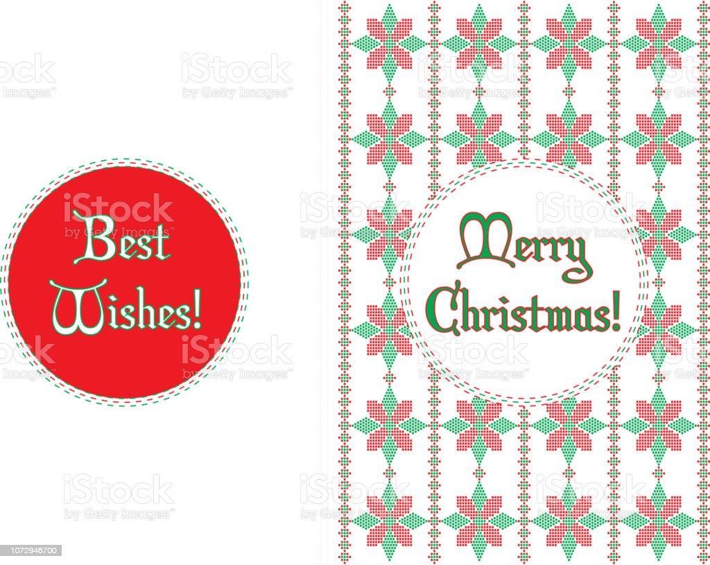Weihnachtskarten Motive.Weihnachtskarten Traditionelle Motive Stock Vektor Art Und Mehr Bilder Von Abstrakt