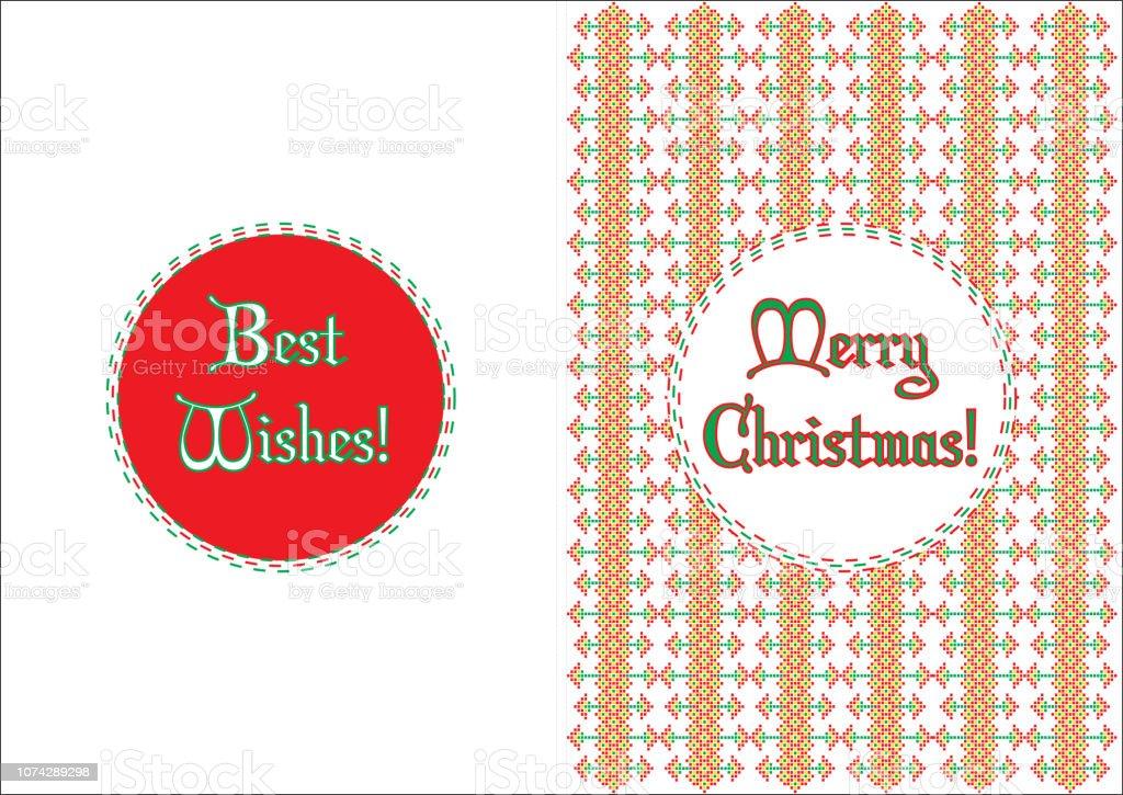 Weihnachtskarten Motive.Weihnachtskarten Traditionelle Motive Stock Vektor Art Und Mehr