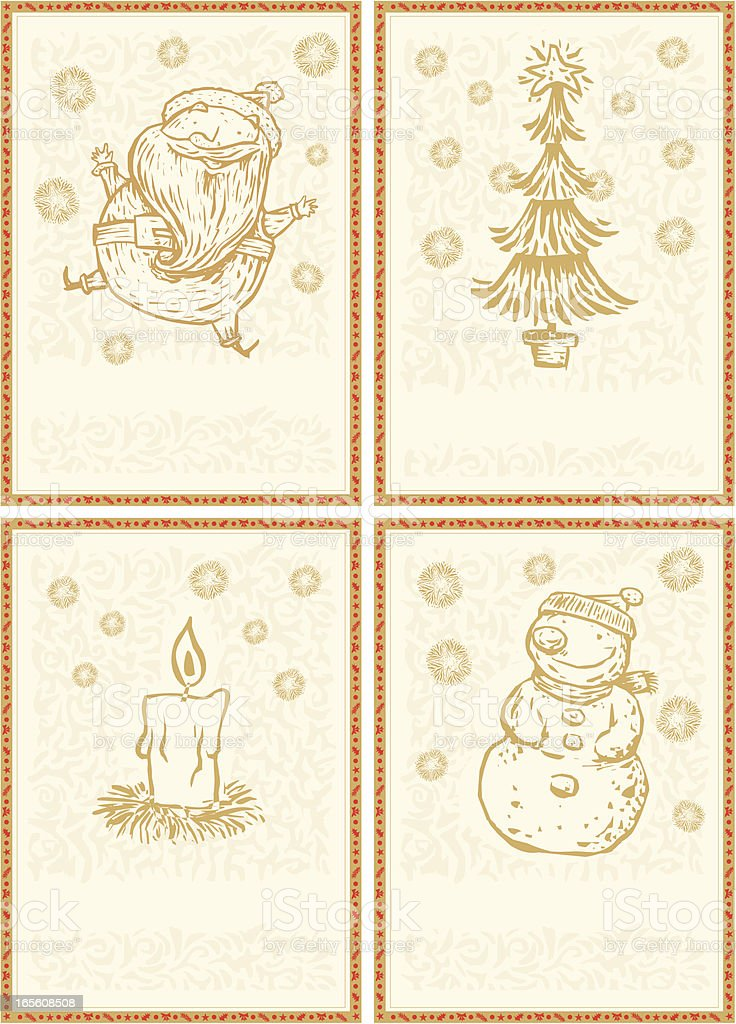 tarjetas navideñas royalty-free tarjetas navideñas stock vector art & more images of beauty