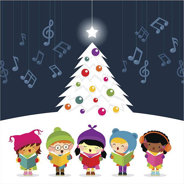 Best Christmas Choir Illustrations, Royalty-Free Vector ...