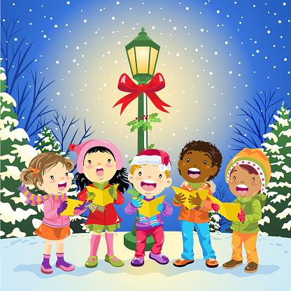 Christmas Carols On The Street