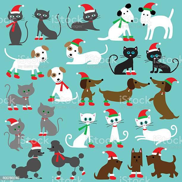 Christmas cats and dogs vector id500293240?b=1&k=6&m=500293240&s=612x612&h=cjdh5s2aau9hkxfk90hc3ewjqc7mvupi3l8wo6ovuh4=