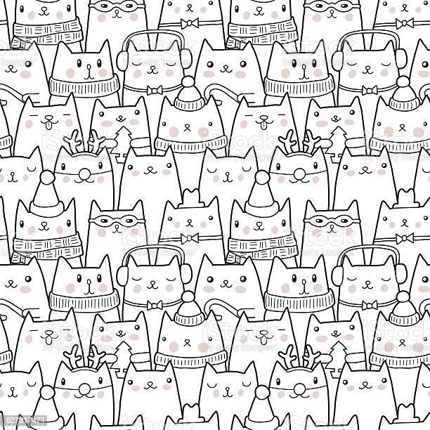 Christmas cats seamless pattern vector id527317471?b=1&k=6&m=527317471&s=612x612&h=e4k09rg4qhtbi af 2vy2wfj4fn8 ikpxgitex5x x8=
