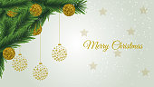 Christmas Celebration decoration background for cards gifts