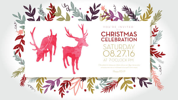 Christmas Greenery Vector.Best Holiday Greenery Illustrations Royalty Free Vector