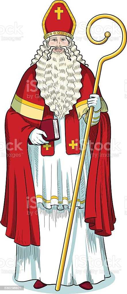 Personnages De Noel Couleur Sinterklaas Vecteurs Libres De Droits Et Plus D Images Vectorielles De Adulte Istock