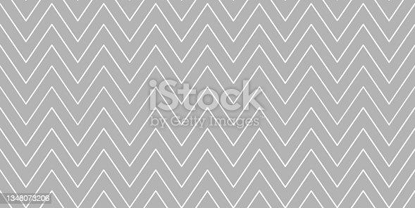 istock Christmas chevron pattern. zig-zag pattern. 1348073206