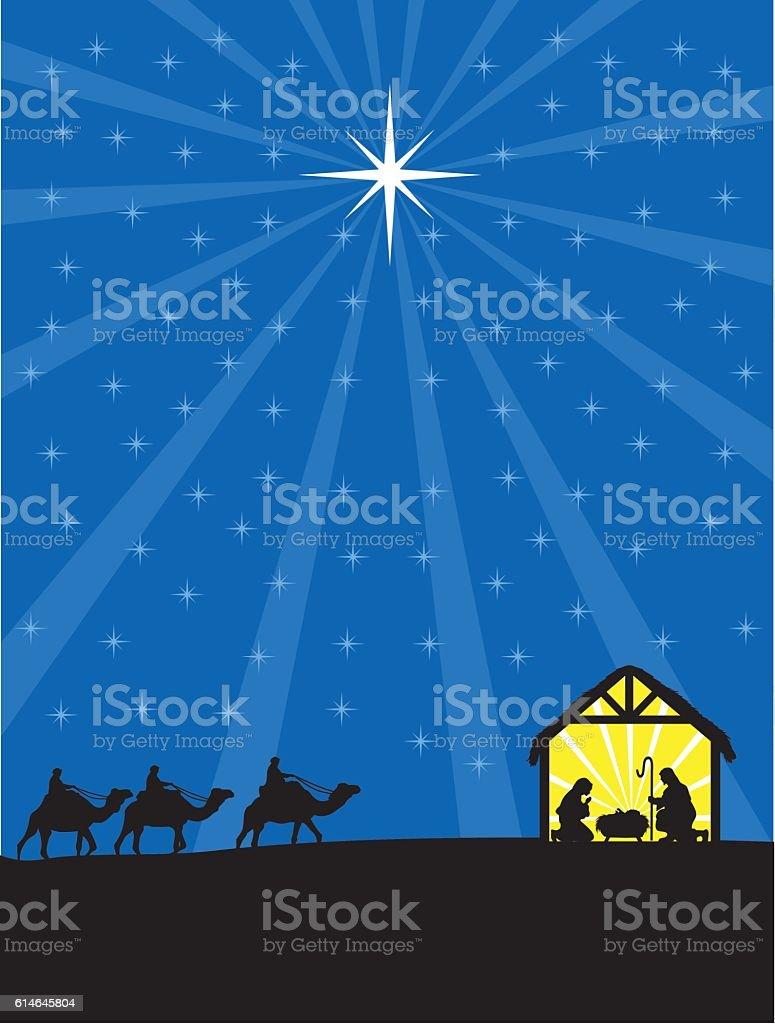 Nativita Natale Immagini.Nativita Natale Cristiana Immagini Vettoriali Stock E