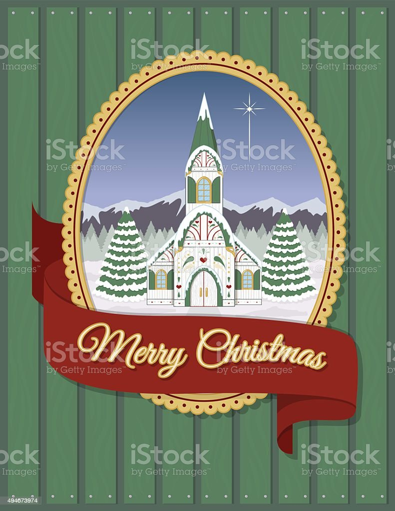 Christmas church greeting card royalty-free christmas church greeting card stock vector art & more images of 2015