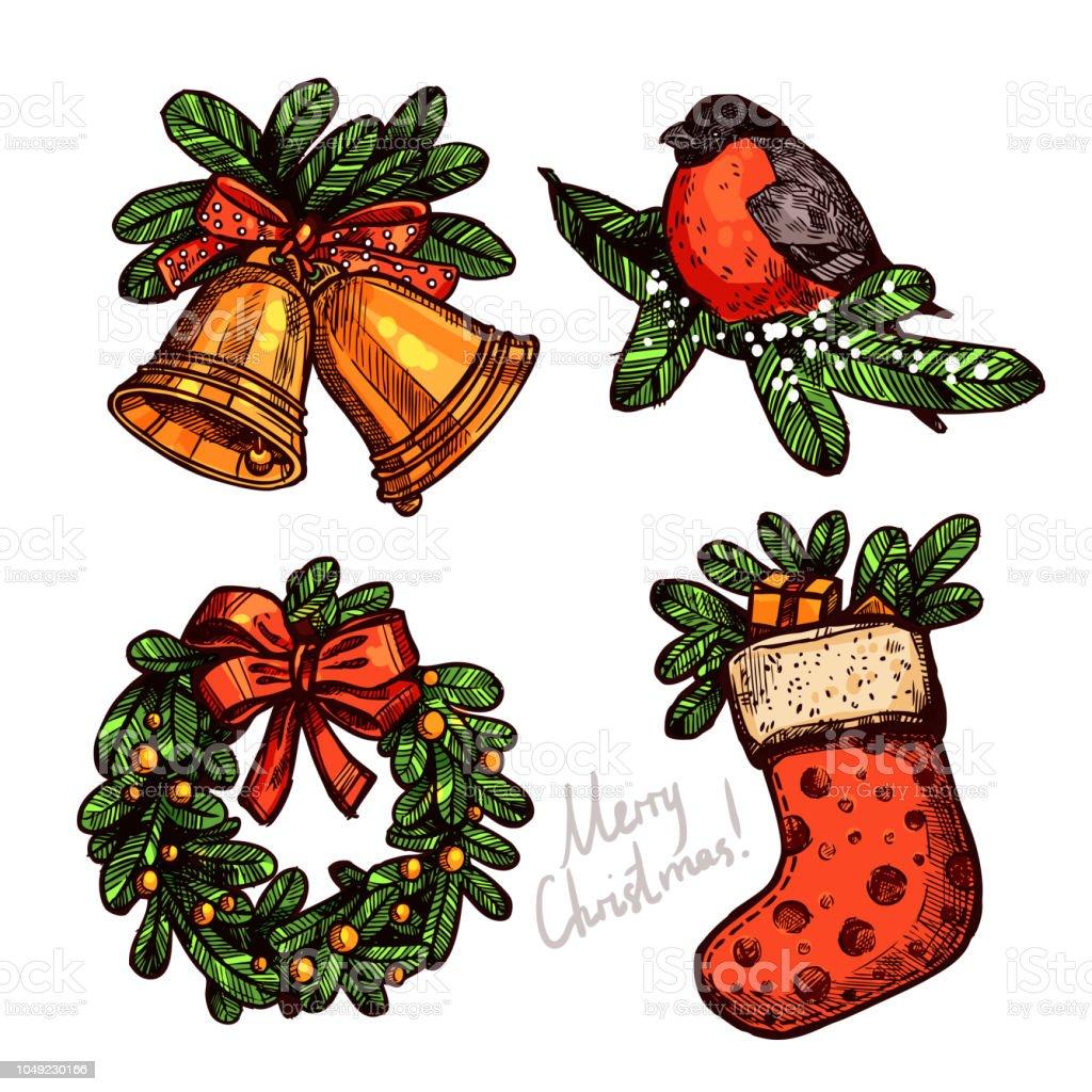Farbtabelle Sketch Weihnachten Mit Ferienobjekten Weihnachten ...