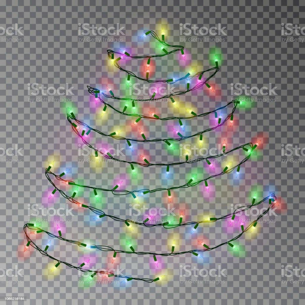 Sapin De Noel Sur Le Mur sapin de noël couleur de chaîne de lumières suspendus sur le