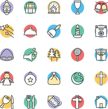 Christmas Cool Vector Icons 3