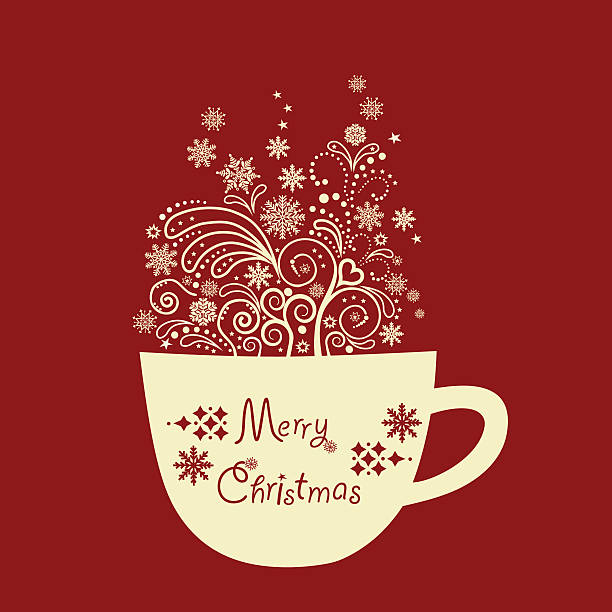 Best Christmas Tea Illustrations Royalty Free Vector