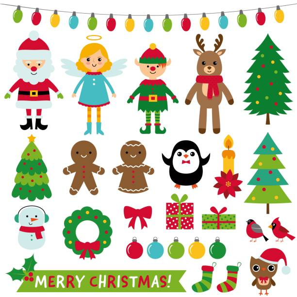 76 784 Christmas Clipart Illustrations Royalty Free Vector Graphics Clip Art Istock
