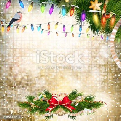 istock Christmas decoration. EPS 10 1235411217