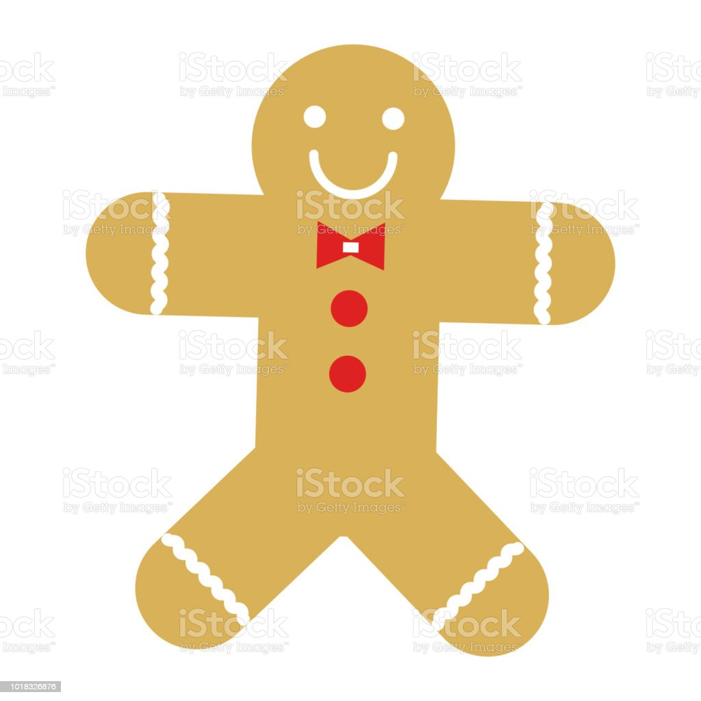 Christmas Decoration Nicknack Gingerbread Man Stock Illustration Download Image Now