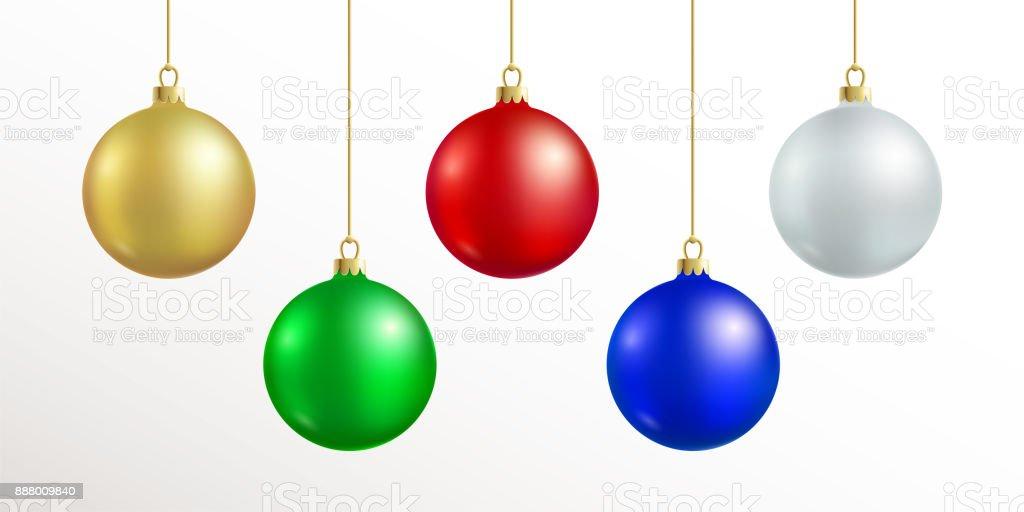 Ilustración de Decoración De La Navidad Colgante De Bola De Navidad ...