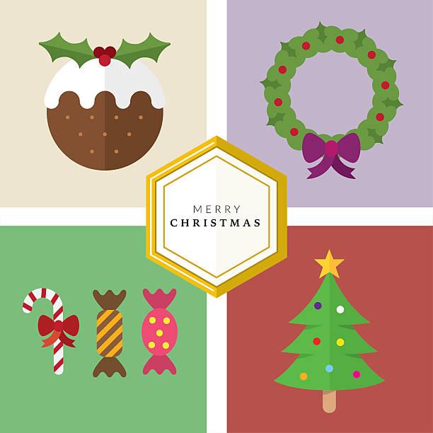 Vectores de Pudín De Navidad y Illustraciones Libre de Derechos - iStock